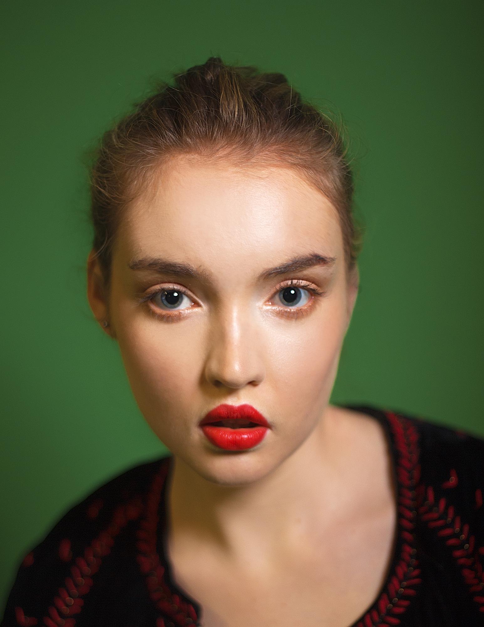blonde valentino russian ukrainian folk zara valentino red lips studio laura one nancy morris kat terek fashion beauty photography bohenian boho greenery slavic polish