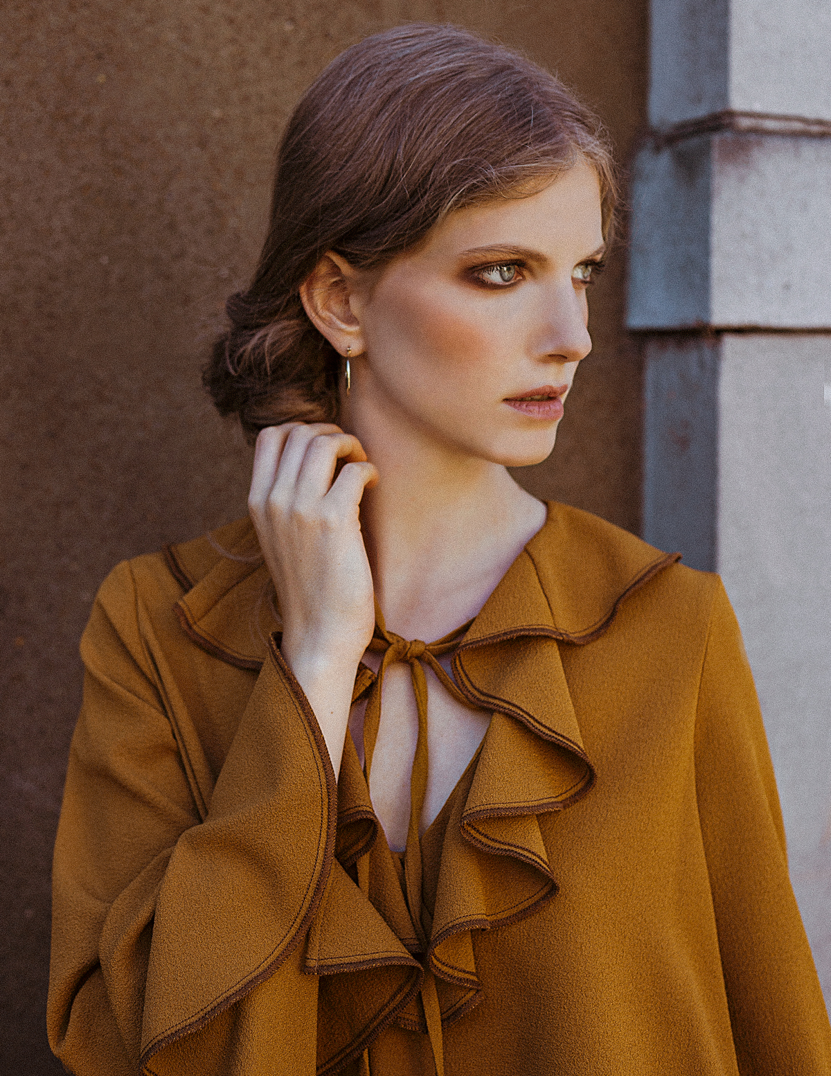 Kat Terek Fashion Editorial for Editorial QC Model Kaya from Lindenstaub Make-up Nora Orthofer Styling Mihaela Popa